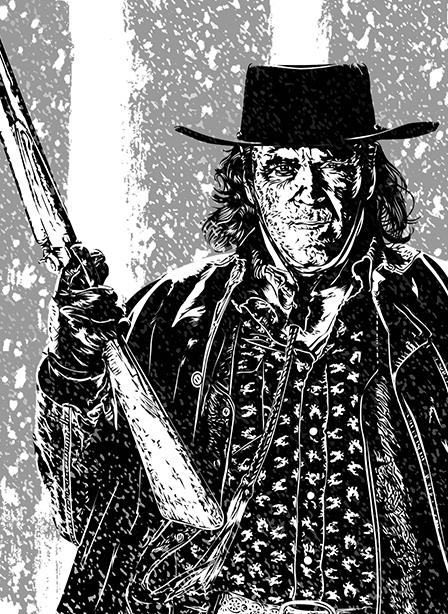 Illustration – Les 8 salopards – Quentin Tarantino