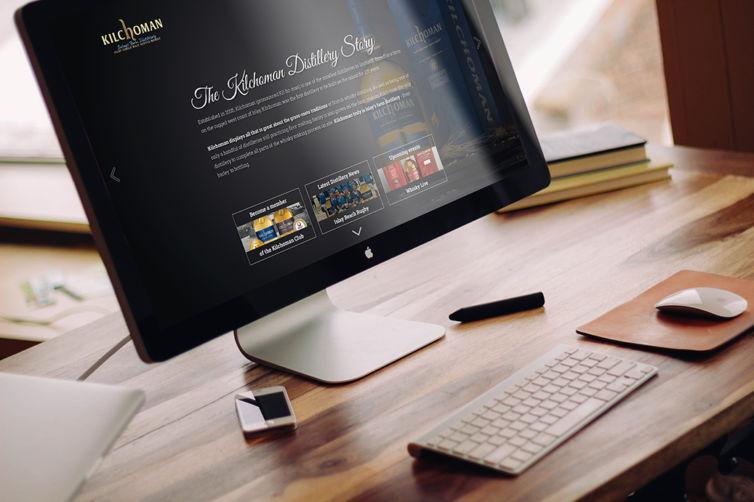 Kilchoman – Webdesign
