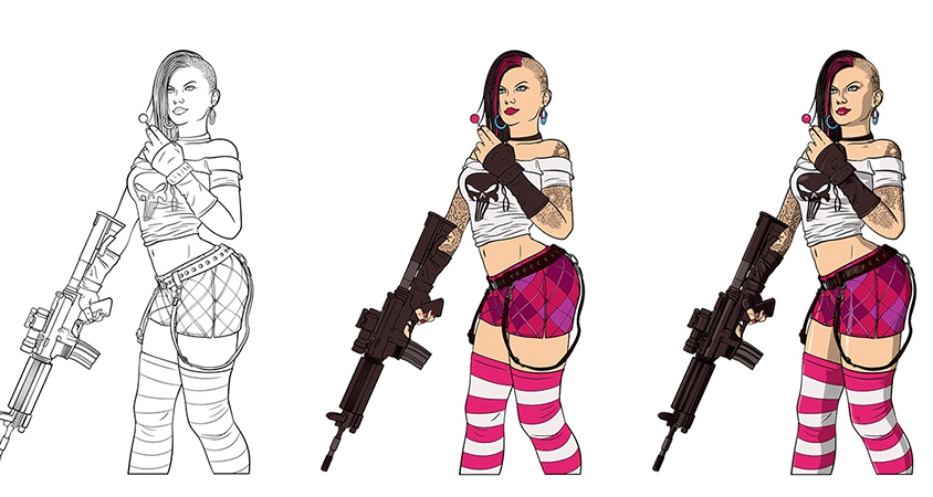 Tank Girl – Illustration
