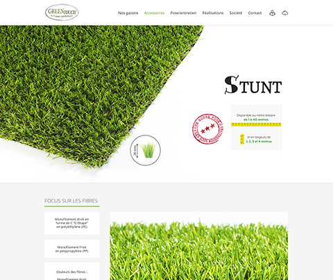 Site web – Greentouch